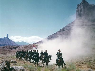 SHE WORE A YELLOW RIBBON, 1949 directed by JOHN FORD (photo)