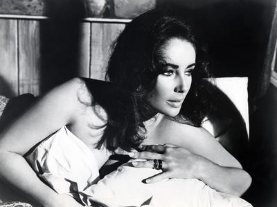 Le Chevalier des Sables THE SANDPIPER by Vincente Minnelli with Elizabeth Taylor, 1965 (b/w photo)