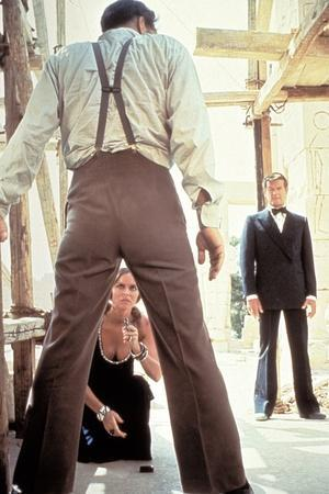 L' Espion qui m'aimait THE SPY WHO LOVED ME by LewisGilbert with Richard Kiel, Barbara Bach and Rog