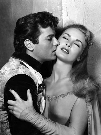 Le Chevalier du Roi BLACK SHIELD OF FALWORTH Rudolph Mate with Tony Curtis and Janet Leigh, 1954 (b