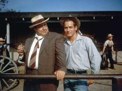 Les Feux by l'ete (The Long hot summer) by Martin Ritt with Orson Welles and Paul Newman, 1958 \r (
