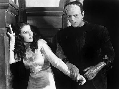 THE BRIDE OF FRANKENSTE 1935 directed by JAMES WHALE Boris Karloff (b/w photo)