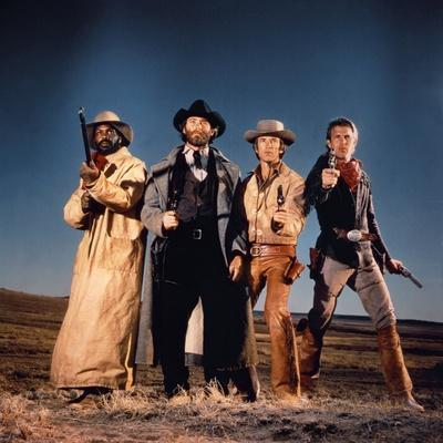 Silverado by LawrenceKasdan with Danny Glover, Kevin Kline, Scott Glenn and Kevin Costner, 1985 (ph