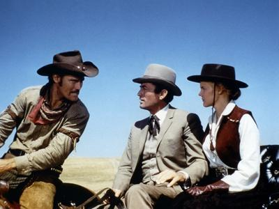 Les Grands Espaces THE BIG COUNTRY by William Wyler with Chuck Connors, Gregory Peck and Carroll Ba