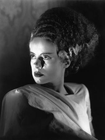 THE BRIDE OF FRANKENSTE 1935 directed by JAMES WHALE Elsa Lanchester (b/w photo)