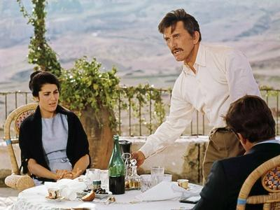 Les Freres Siciliens THE BROTHERHOOD by Martin Ritt with Irene Papas, Kirk Douglas and Alex Cord, 1
