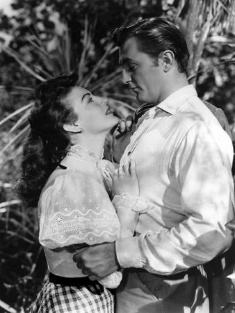 Mon passe defendu MY FORBIDDEN PAST by RobertStevenson with Ava Gardner and Robert Mitchum, 1951 (b