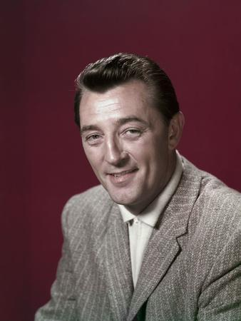 ROBERT MITCHUM in the 50's (photo)