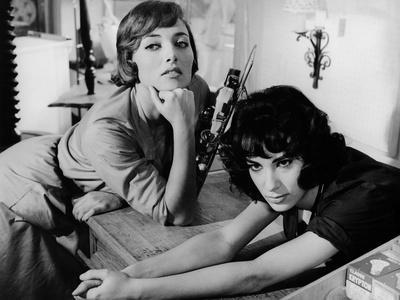 LES BONNES FEMMES (The Good Times Girls) by Claude Chabrol with Stephane Audran and Bernadette Lafo