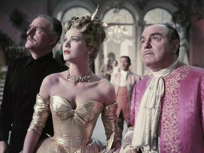 La Main au Collet TO CATCH A THIEF by AlfredHitchcock with John Williams, Grace Kelly and Rene Blan