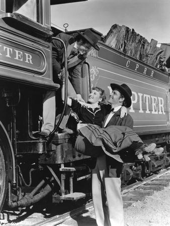Pacific Express UNION PACIFIC by CecilBDeMille with Rovert Presto, Barbara Stanwyck and Joel McCrea