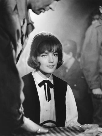 Les Vainqueurs THE VICTORS by Carl Foreman with Romy Schneider, 1963 (b/w photo)