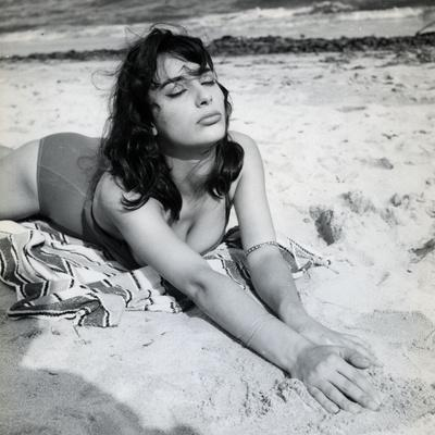 Les Godelureaux by ClaudeChabrol with Bernadette Lafont, 1961 (b/w photo)