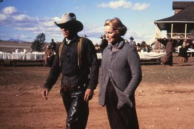 Tom Horn by WilliamWiard with Steve MacQueen and Linda Evans, 1980 (photo)