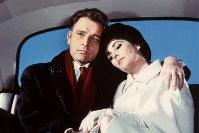Hotel International THE V.I.P.S d'Anthony Asquith with Elizabeth Taylor and Richard Burton, 1963 (p