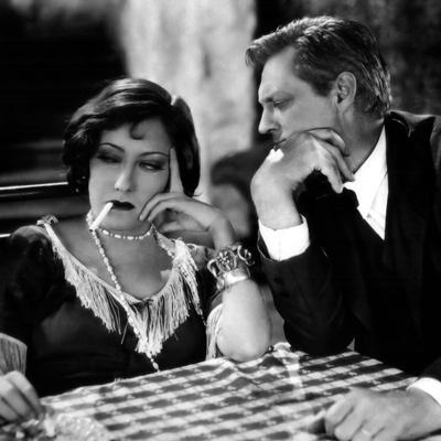 Miss Sadie Thompson by RaoulWalsh with Gloria Swanson and Lionel Barrymore, 1928 (b/w photo)