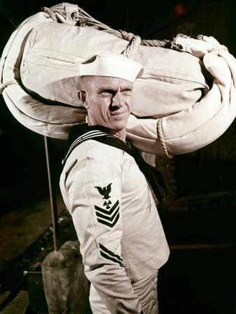 La Canonniere du Yang Tse THE SAND PEBBLES by Robert Wise with Steve McQueen, 1966 (photo)