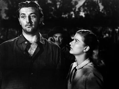 Ciel rouge BLOOD ON THE MOON by Robert Wise with Robert Mitchum and Barbara Bel Geddes, 1948 (b/w p