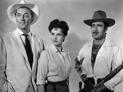 Bandido caballero by Richard Fleischer with Robert Mitchum, Ursula Thiess and Gilbert Roland, 1956