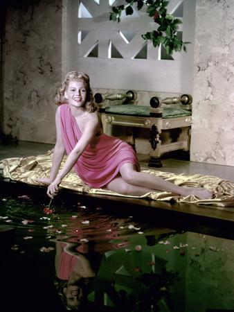 SALOME by William Dieterle with Rita Hayworth, 1953 (photo)