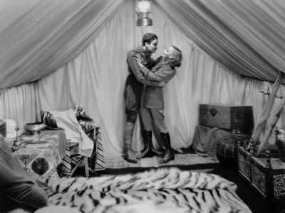 Terre by Volupte WILD ORCHIDS by Sidney Franklin with Greta Garbo and Nils Asther, 1929 (b/w photo)