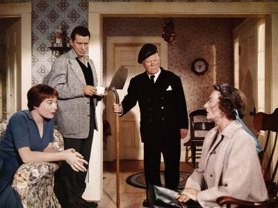 """""""THE TROUBLE WITH HARRY"""" by AlfredHitchcock with Shirley McLaine, John Forsythe, Edmund Gwenn and M"""