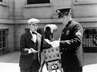 L'Operateur The Cameraman by EdwardSedgwick with Buster Keaton, 1928 Film muet --- Silent movie (b/
