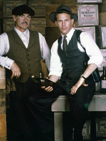 Les incorruptibles THE UNTOUCHABLES by BrianDePalma with Sean Connery and Kevin Costner, 1987 (phot