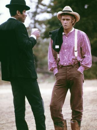 Les reivers (The Reivers) by Mark Rydell with Steve McQueen and Rupert Crosse, 1969 (d'apres Willia
