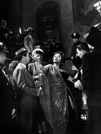 Boulevard du Crepuscule Sunset Boulevard by BillyWilder with Gloria Swanson, 1950 (b/w photo)
