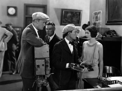 L'Operateur The Cameraman by EdwardSedgwick with Harold Goodw Buster Keaton and Marceline Day, 1928