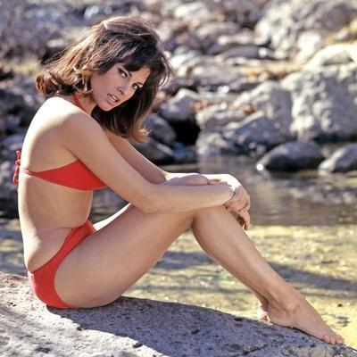American actress Raquel Welch born spetember 5th, 1940 in Chicago, here 1962 (photo)