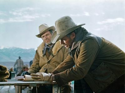 Will Penny by Tom Gries with Charlton Heston, 1967 (photo)