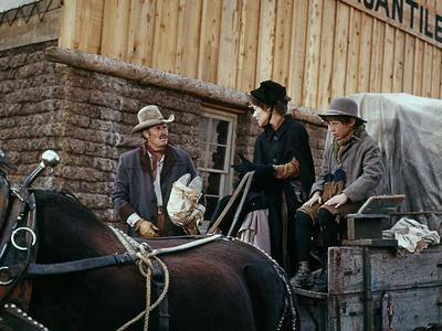 Will Penny by Tom Gries with Charlton Heston and Joan Hackett, 1967 (photo)