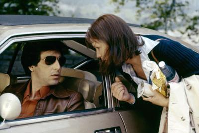 Bobby Deerfield by Sydney Pollack with Al Pacino, Marthe Keller, 1977 (photo)