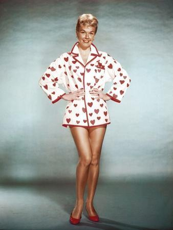 Doris Day born as Doris Kappelhoff in Cincinnati 1924, actrice, singer and producer, here 1954 (pho