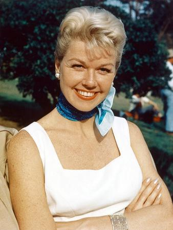 Doris Day born as Doris Kappelhoff in Cincinnati 1924, actrice, singer and producer, here 1955 (pho