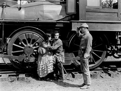 Le mecano by la General THE GENERAL by Buster Keaton with Marion Mack and Buster Keaton, 1927 (b/w