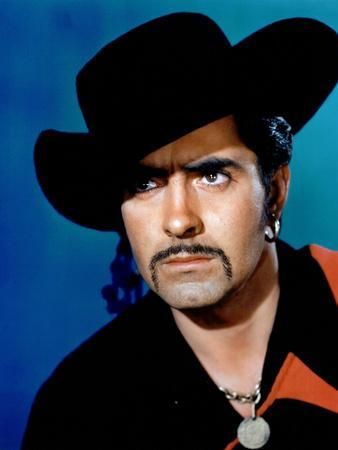 THE BLACK SWANN, 1942 directed by HENRY KING Tyrone Power a (photo)