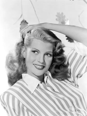 Rita Hayworth (born as Margarita Cansino, 1918 - 1987), here 1942 (b/w photo)