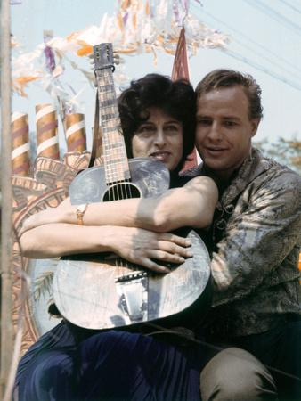 L' homme a la peau by serpent The Fugitive Kind by Sidney Lumet with Anna Magnani and Marlon Brando