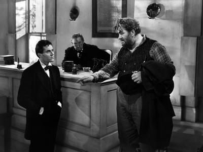 Vers sa destinee YOUNG MR. LINCOLN by JohnFord with Henry Fonda, Spencer Charters (le role du juge)