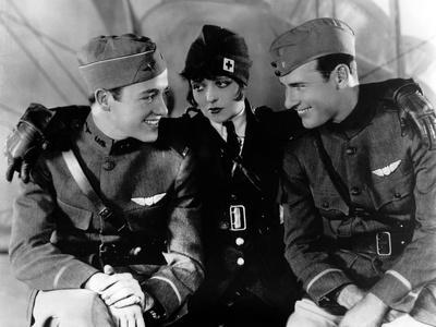"""Les Ailes WINGS by WilliamWellman with Richard Arlen, Clara Bow and Charles """"Buddy"""" Rogers., 1927 ("""