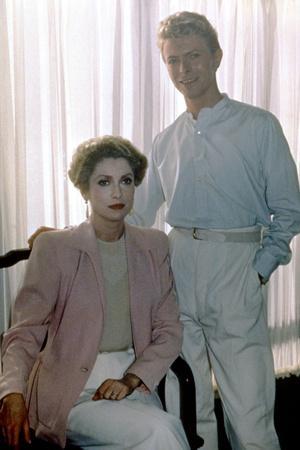 Les predateurs HUNGER by Tony Scott with David Bowie and Catherine Deneuve, 1983 (photo)