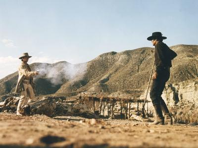 Once Upon a Time in the West by SergioLeone with Charles Bronson (1921 - 2003), Henry Fonda (1905 -