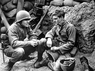 War Hunt by DenisSanders with John Saxon and Robert Redford, 1961 (b/w photo)