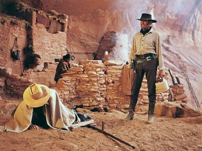 Once Upon a Time in the West by SergioLeone with Henry Fonda (1905 - 1982), here c, 1968 (photo)