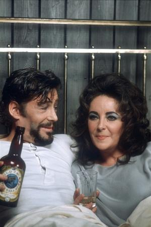 Under Milk Wood by Andrew Sinclair with Peter O'Toole and Elizabeth Taylor, 1972 (photo)