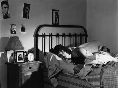 L'eau a la bouche by Jacques Doniol Valcroze with Bernadette Lafont, 1960 (b/w photo)