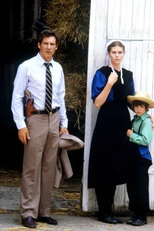 Witness by PeterWeir with Lukas Haas, Kelly McGillis and Harrison Ford, 1985 (photo)
